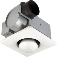 70 CFM 3.5 Sone Ceiling Mounted HVI Certified Utility Fan with Light