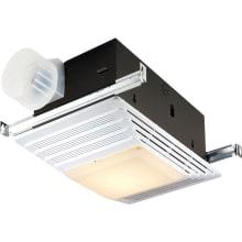 70 CFM 4 Sone Ceiling Mounted HVI Certified Bath Fan with Light