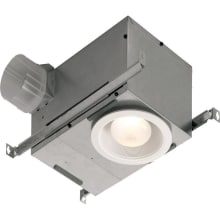 70 CFM 1.5 Sone Ceiling Mounted HVI Certified Bath Fan with Light