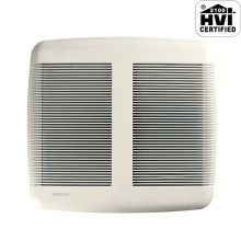 80 CFM 0.8 Sone Ceiling Mounted Energy Star Rated and HVI Certified Bath Fan from the QT Collection