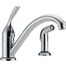 Classic Kitchen Faucet with Side Spray - Includes Lifetime Warranty