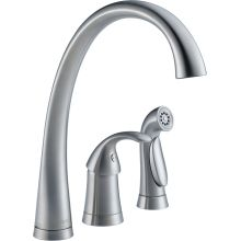 Pilar Kitchen Faucet with Side Spray - Includes Lifetime Warranty