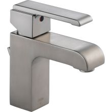 Arzo Single Hole Bathroom Faucet with Pop-Up Drain Assembly and Optional Base Plate - Includes Lifetime Warranty