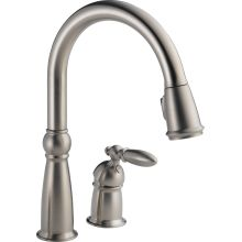 Victorian Pull-Down Kitchen Faucet with Magnetic Docking Spray Head - Includes Lifetime Warranty