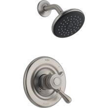 Leland Monitor 17 Series Dual Function Pressure Balanced Shower Trim Package with Touch Clean Shower Head and Integrated Volume Control - Less Rough-In Valve