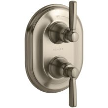 Bancroft Double Metal Lever Handle Thermostatic Trim
