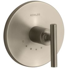 Purist Single Metal Lever Handle Thermostatic Valve Trim