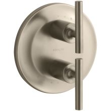 Purist Double Metal Lever Handle Thermostatic Valve Trim