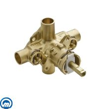 1/2 Inch Sweat (Copper-to-Copper) Posi-Temp Pressure Balancing Rough-In Valve (With Stops)