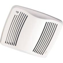 110 CFM 0.7 Sone Ceiling Mounted Energy Star Rated HVI Certified Bath Fan with Humidity Sensor from the QT Collection