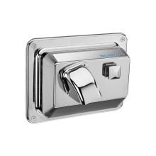 Push Button Activated Hand Dryer for recessed mounting. 110/120 VAC, 20 Amp