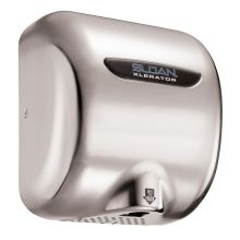 Xlerator Model Ultra-fast, Sensor Activated Hand Dryer for surface mounting. 220/240 VAC, 6.5 Amp