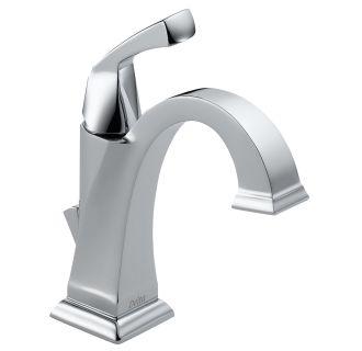 Delta 551-DST Chrome Single Handle Centerset Bathroom Faucet