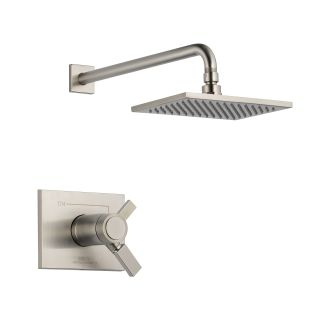 Delta T17T253-SS Brilliance Stainless Single Handle Showerhead