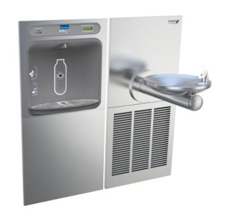 Elkay EZH20 LZWS Wall Mount SwirlFLO Drinking Cooler with Filter