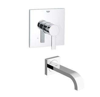 Grohe Wall Tub Filler At Faucet Com