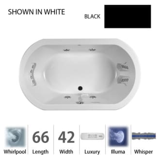 Jacuzzi DUE6642 WCR 4IW