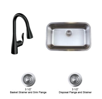Moen Arbor and Blanco Kitchen Combo 2