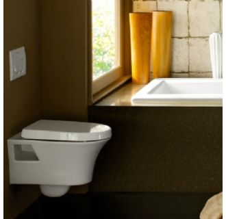 Porcher Wall Mounted Dual Flush Toilet