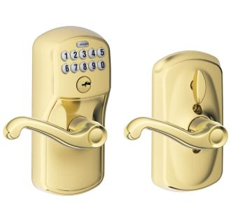 Schlage FE595-PLY-FLA