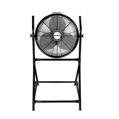 Stand Up Fan : Stand up fans at giant appliance store