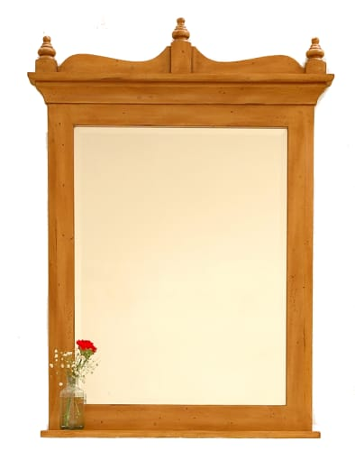 "Sagehill Designs HH3547MR Hearthside Heartland Home 34-3/8"" Vanity Mirror with Accessory Shelf from the Heartland Home Collection HH3547MR"