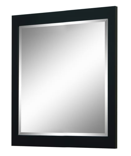 Sagehill Designs UW3638MR Walnut Urban Walnut 36 Framed Bevel Mirror from the Urban Walnut Collection UW3638MR