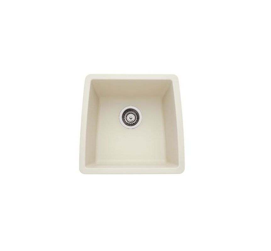 440080 in biscuit by blanco for Silgranit bathroom sinks