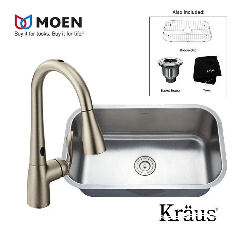 Moen Arbor 7594esrs Touchless Kitchen Faucet Moen Arbor Soap Dispenser Motionsense Gooseneck