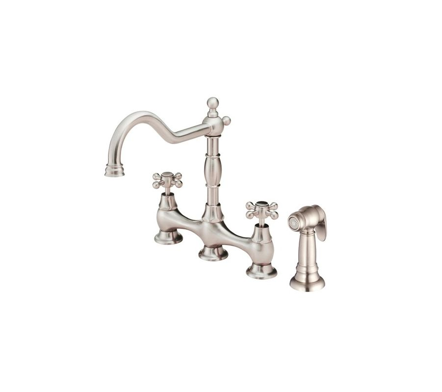faucet com d404557ss in stainless steel by danze danze d401557pbv polished brass kitchen faucet includes