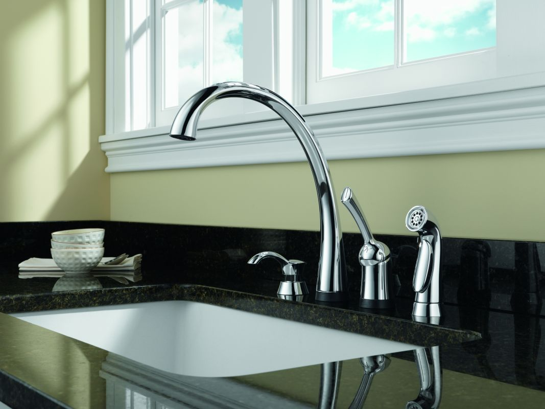 Delta Signature Single Handle Pullout Kitchen Faucet Installation