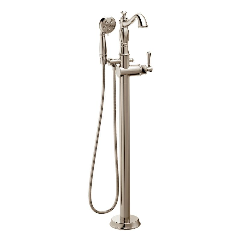 Faucet Com T4797 Pnfl Lhp In Brilliance Polished Nickel By Delta