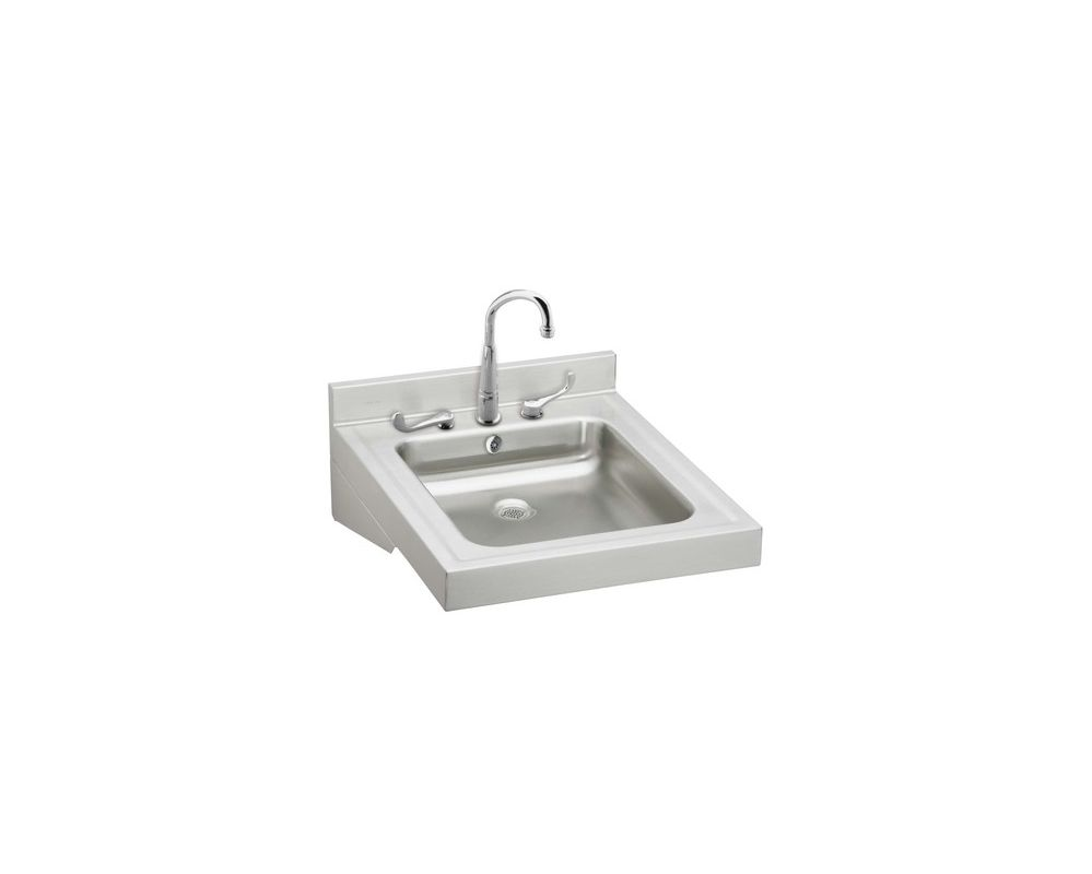 Wclwo1923osdc in stainless steel by elkay for Bath sink and toilet packages