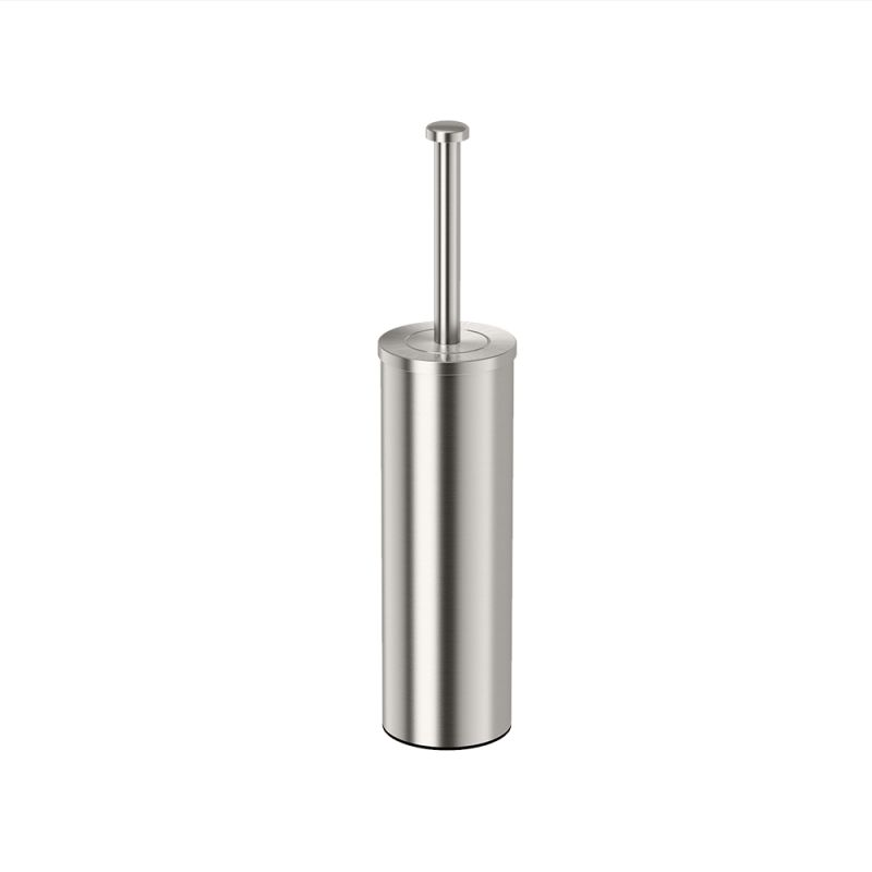 UPC 011296148208 product image for Gatco 148 Satin Nickel  Gatco 148 Slender Toilet Brush Holder | upcitemdb.com