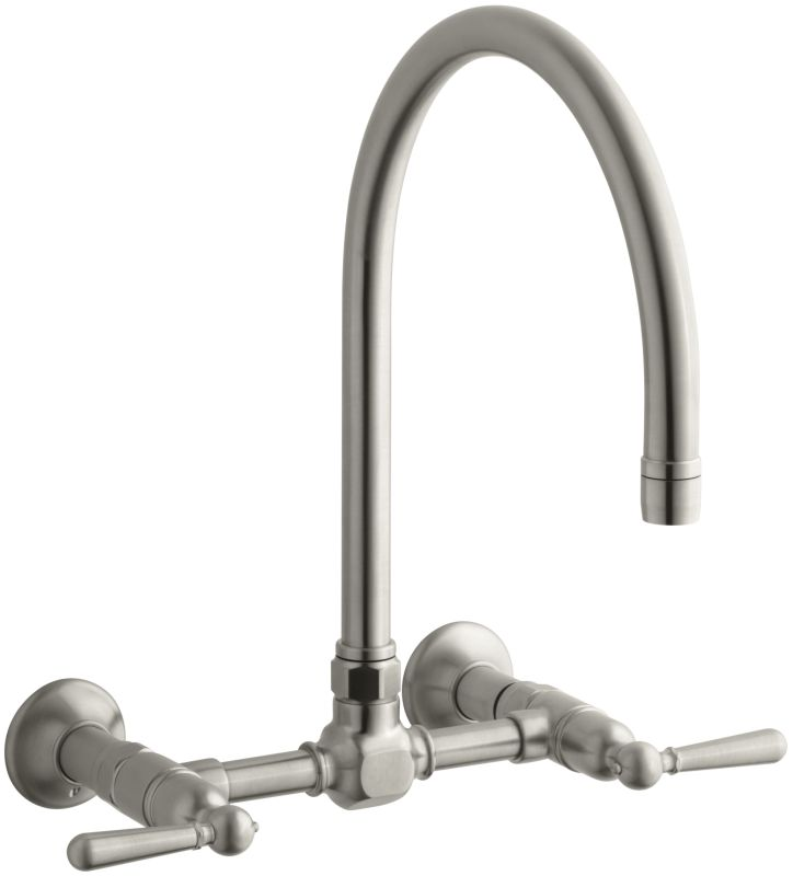 K 7338 4 Bs In Brushed Stainless By Kohler