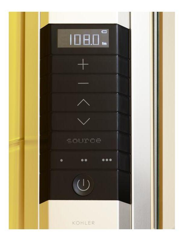 Kohler K-2958-NA N/A Stereostik Stereostik Audio Add on Kit for Kohler CL Series Mirrored Cabinets K-2958