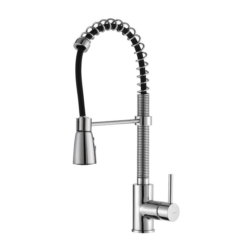 Kraus Plumbing Fixtures : Kraus KPF-1612 Chrome Commercial Style Pre-Rinse Kitchen Faucet with ...