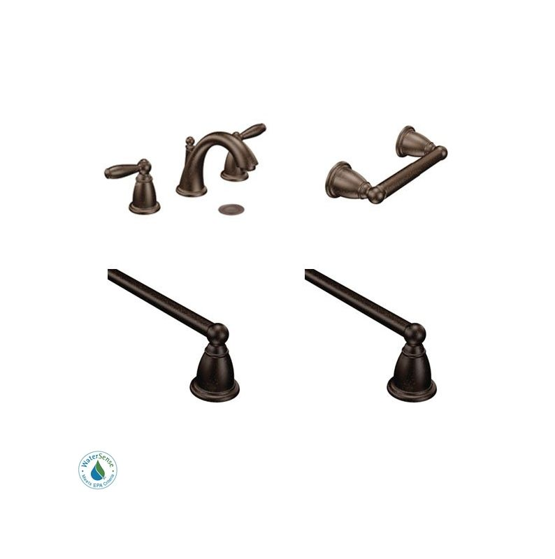 Brantford Faucet And Accessory Bundle 3ORB In Oil Rubbed Bronze