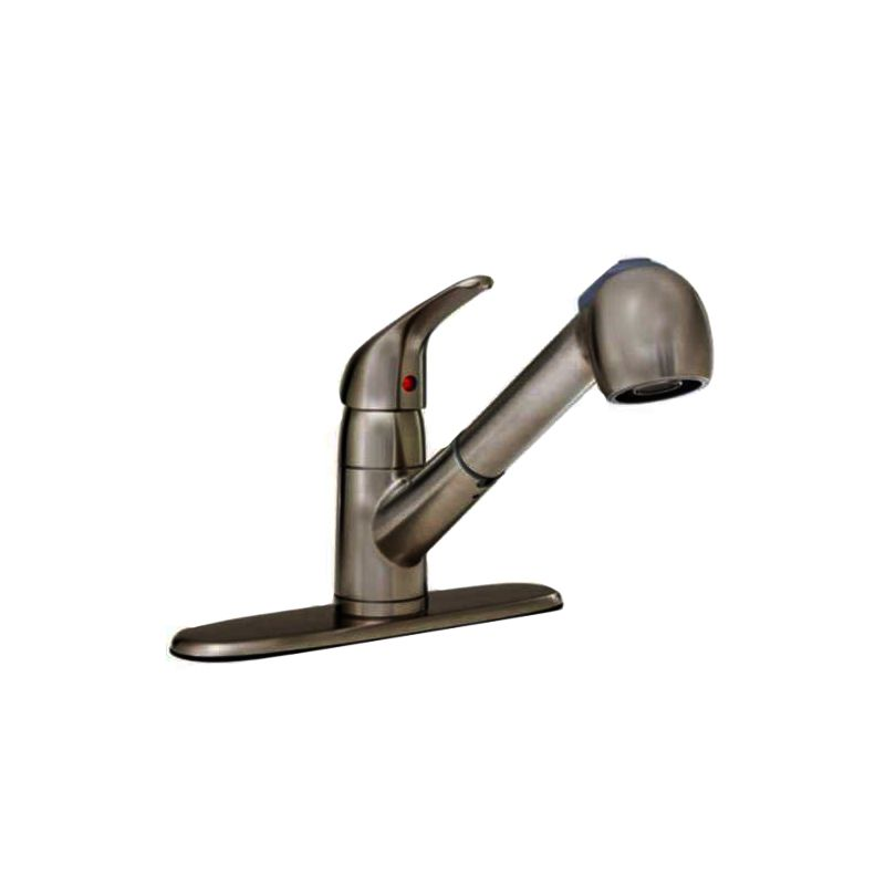 proflo kitchen sink faucets upc amp barcode upcitemdb com proflo 174 kitchen faucet less spray with single lever