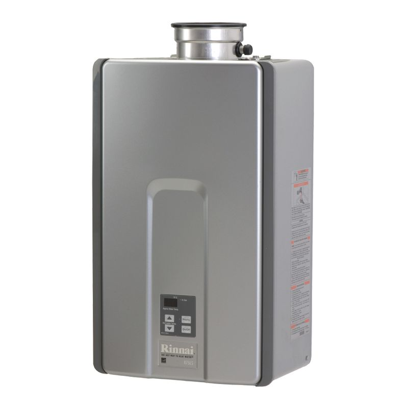 Rinnai Natural Gas Tankless Water Heater, 7.5 Gals Per Minute