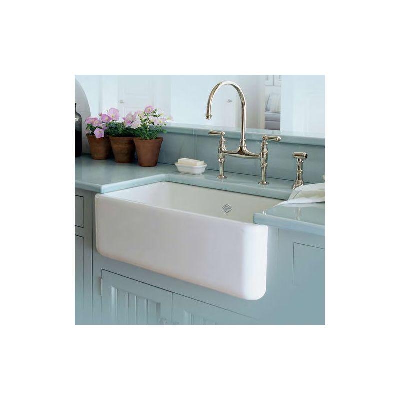 Wholesale Farmhouse Sinks : ... RC3018WH White Shaws 30