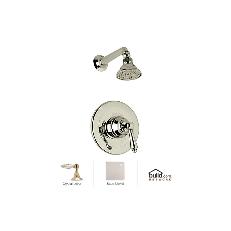 Excellent Rohl AKIT31LC-STN Satin Nickel Country Bath Shower System with  500 x 500 · 21 kB · jpeg