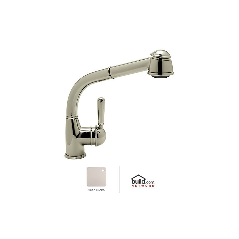 Faucet Com R7903lmstn In Satin Nickel By Rohl