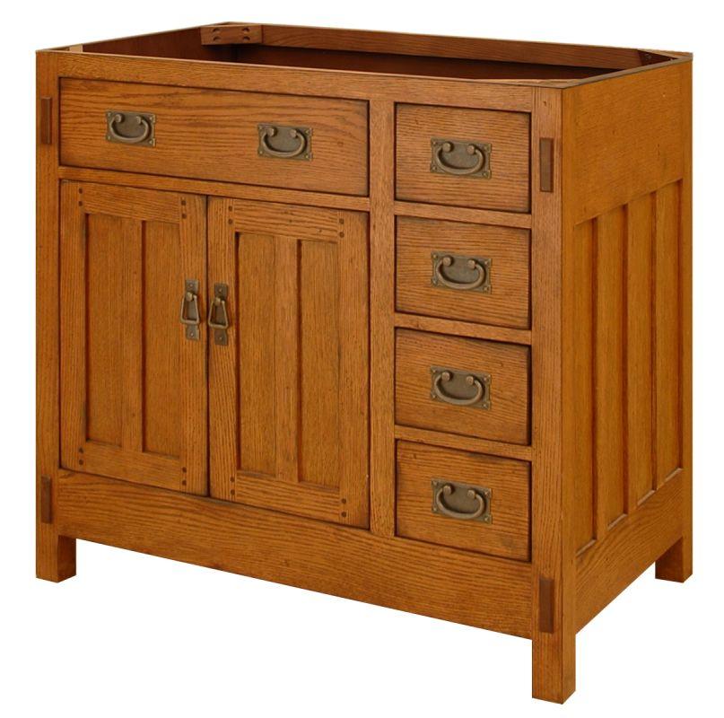Ac3621d in rustic oak by sagehill designs for Sagehill designs bathroom vanity