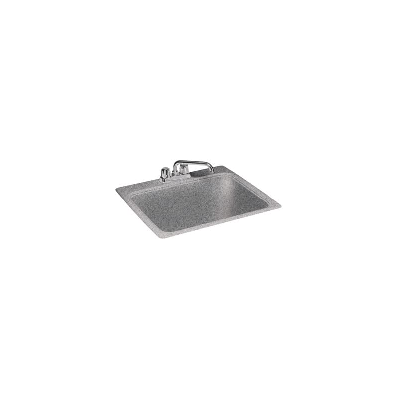 Composite Laundry Sink : Swanstone DI00000.042 Gray Granite 25