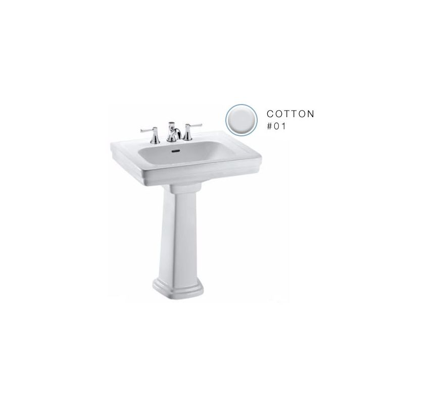 faucet com lpt530n 01 in cotton by toto