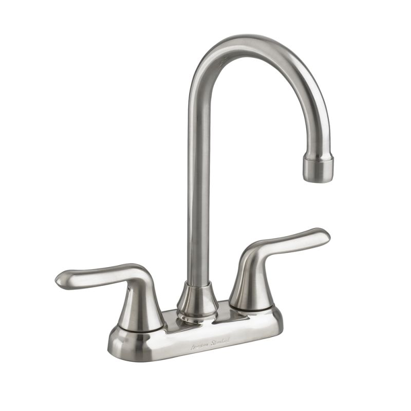 American Standard Faucets : American Standard 2475.500.075 Stainless Steel Colony Soft Bar / Prep ...