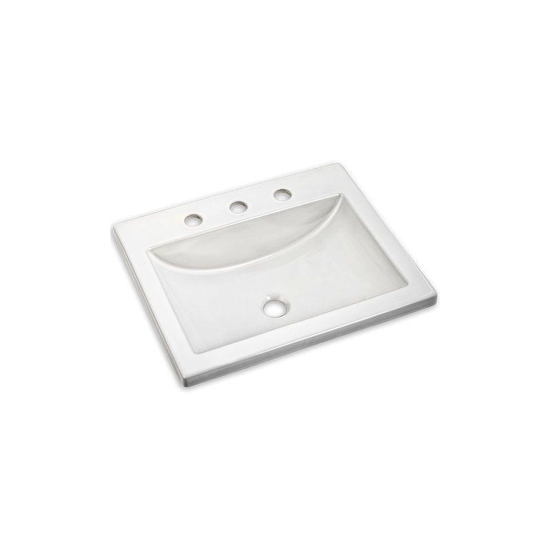 In white by american standard for Lavabo salle de bain american standard
