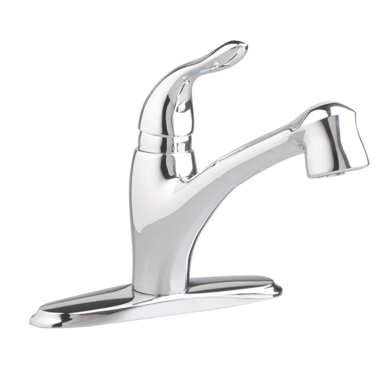 American Standard Faucets : American Standard 4114.100.002 Chrome Lakeland Pullout Kitchen Faucet