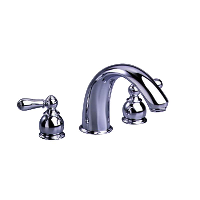 American Standard T980.732.295 Satin Double Handle Roman Tub Filler ...